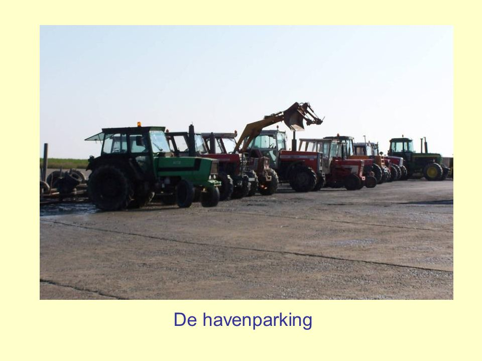 De havenparking