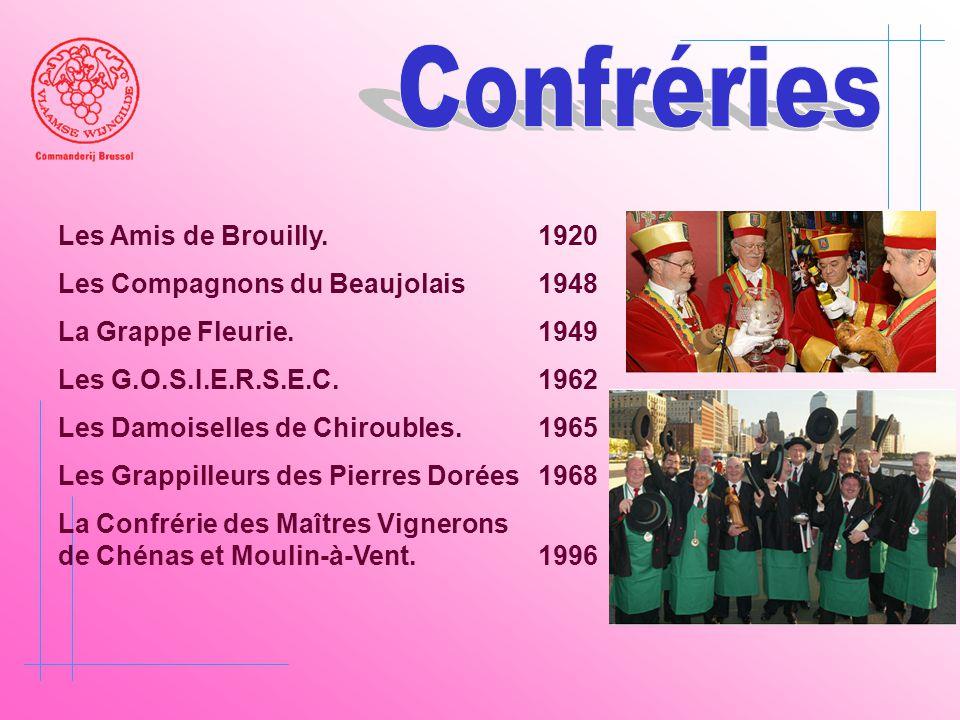Confréries Les Amis de Brouilly. 1920