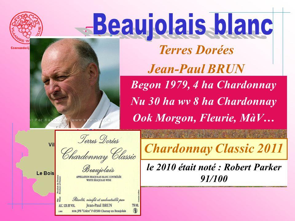 Ook Morgon, Fleurie, MàV… le 2010 était noté : Robert Parker 91/100