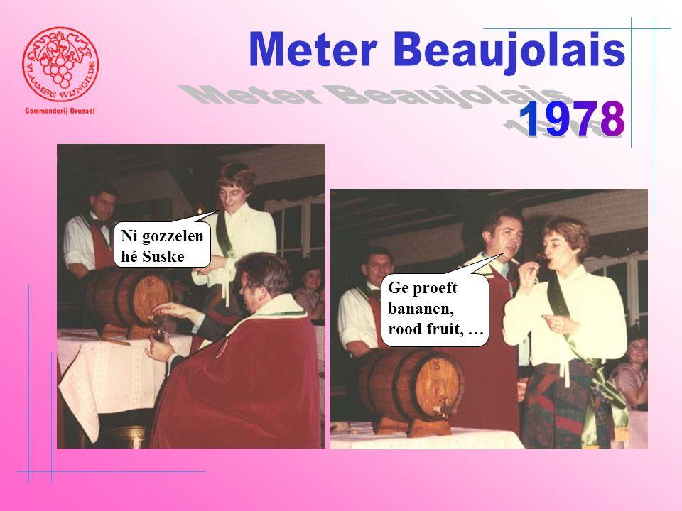 Meter Beaujolais 1978 Ni gozzelen hé Suske