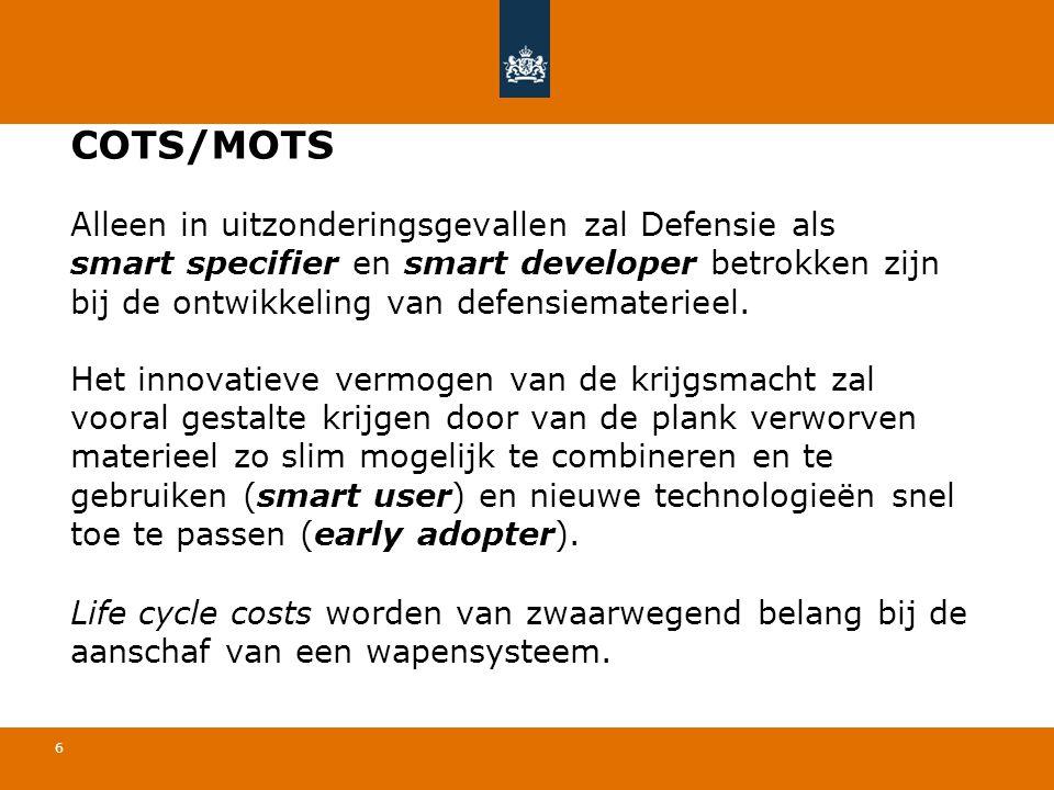 COTS/MOTS