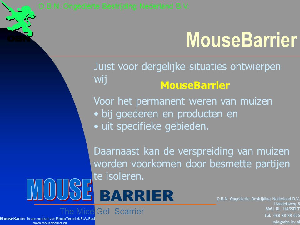 MouseBarrier MOUSE BARRIER