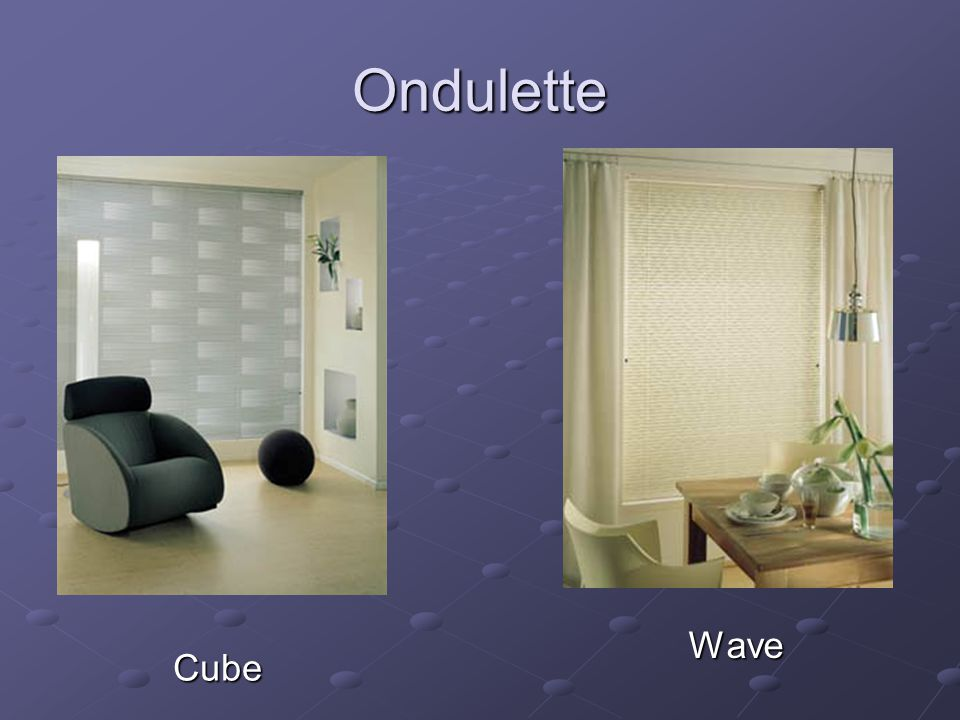 Ondulette Wave Cube