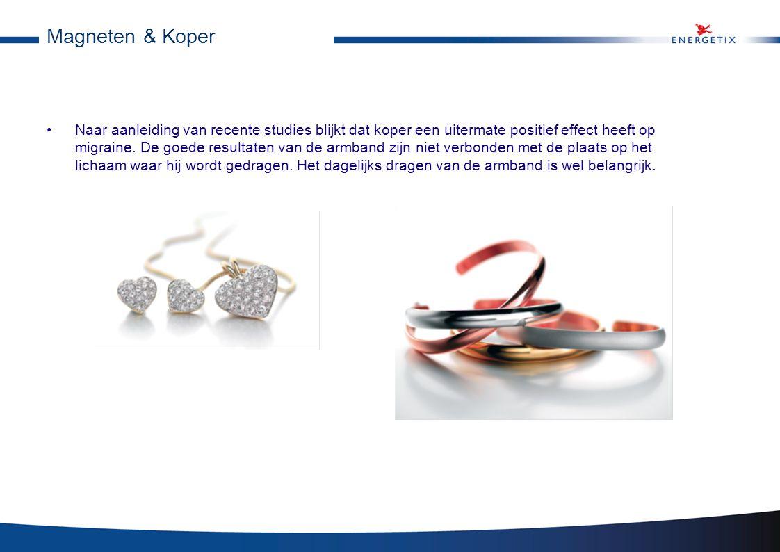 Magneet armband tegen migraine