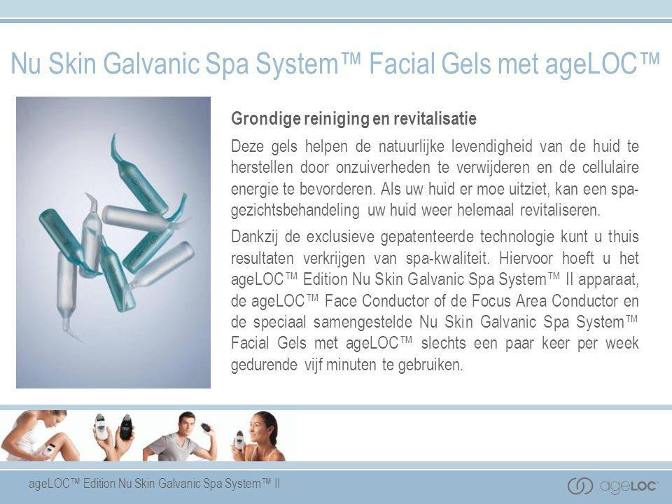 Nu Skin Galvanic Spa System™ Facial Gels met ageLOC™