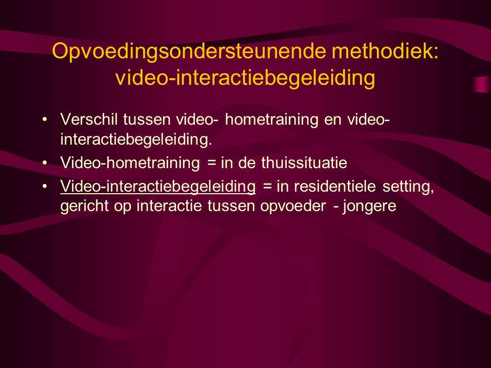 Opvoedingsondersteunende methodiek: video-interactiebegeleiding