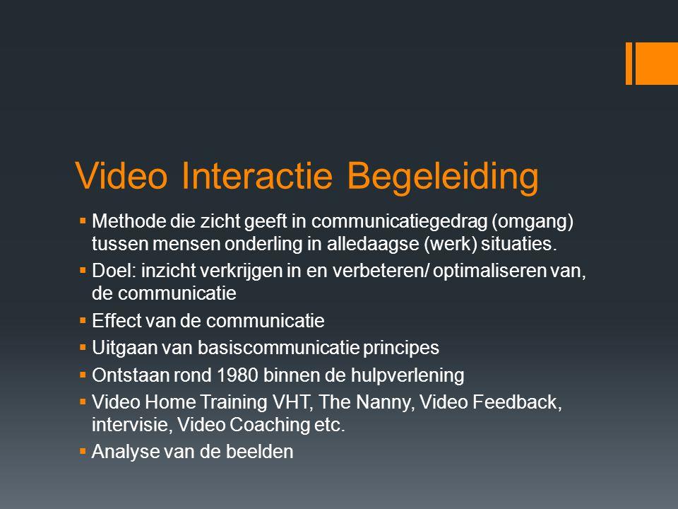 Video Interactie Begeleiding
