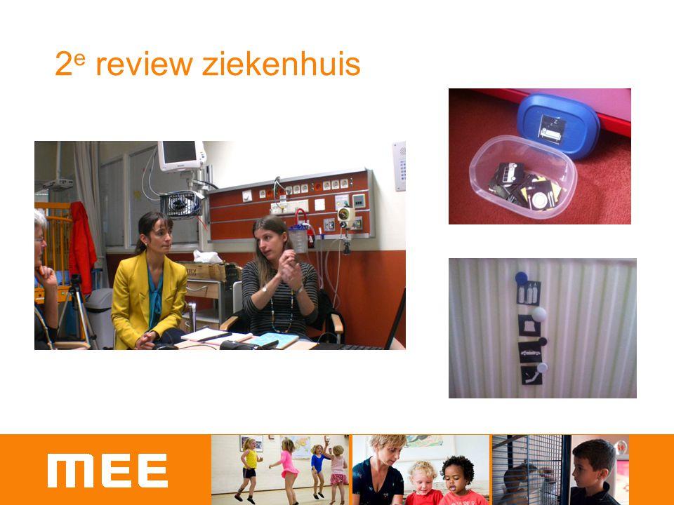 2e review ziekenhuis Stil staan bij Groei en aanscherpen aanpak