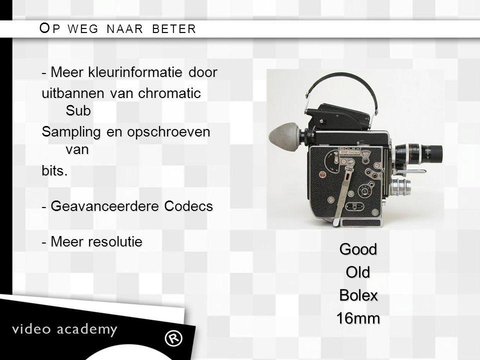 Good Old Bolex 16mm Op weg naar beter - Meer kleurinformatie door