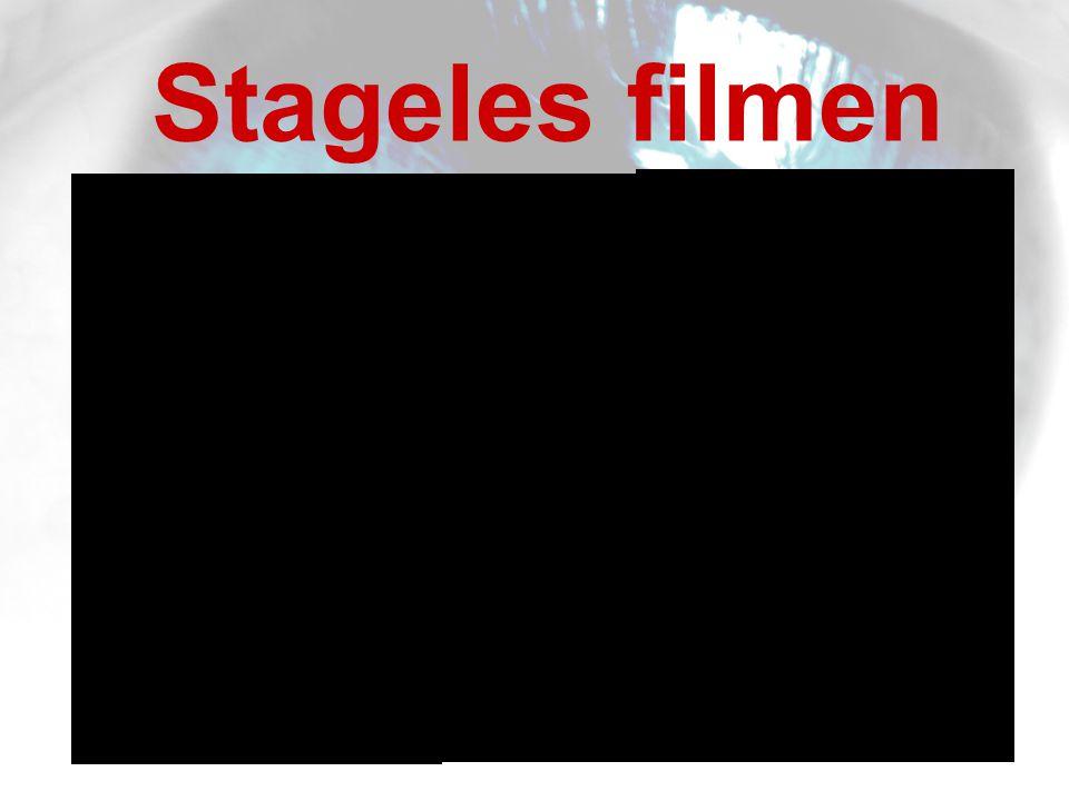 Stageles filmen