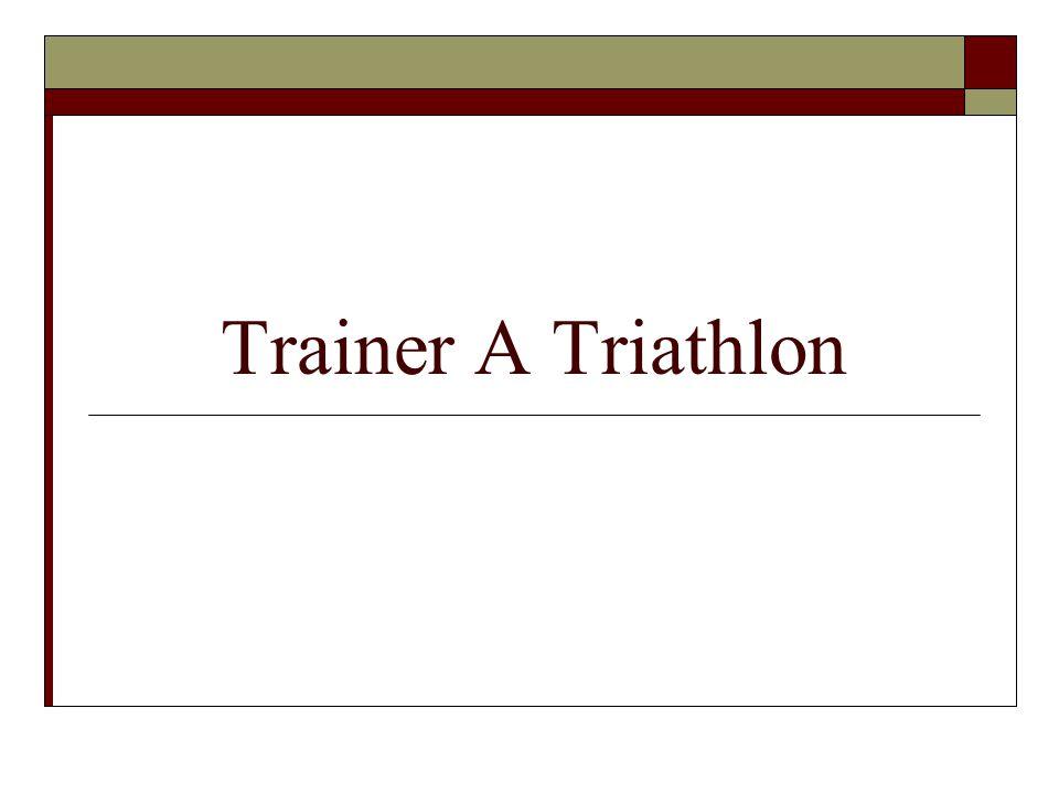 Trainer A Triathlon