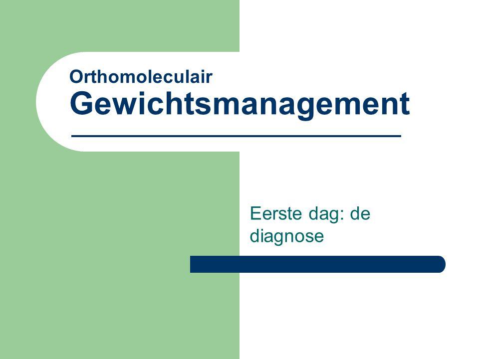 Orthomoleculair Gewichtsmanagement
