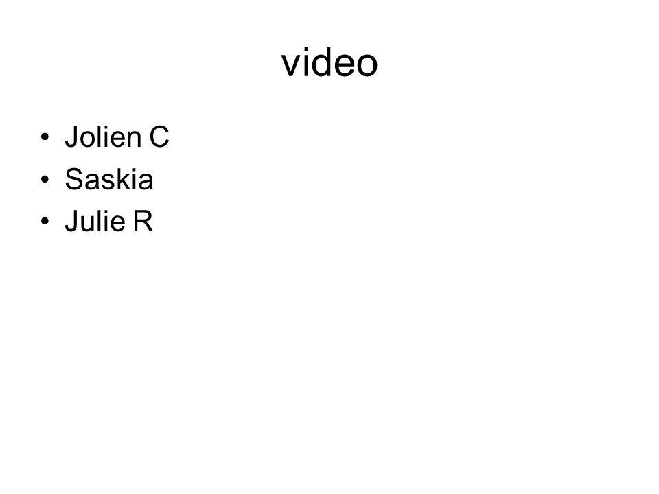 video Jolien C Saskia Julie R