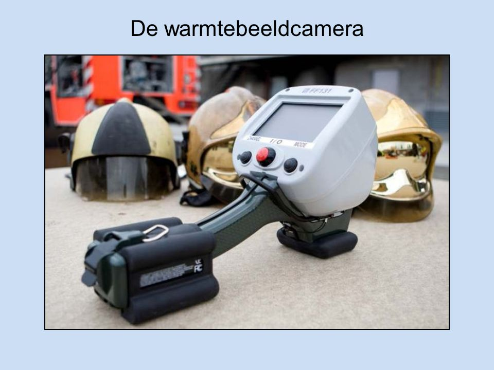 De warmtebeeldcamera