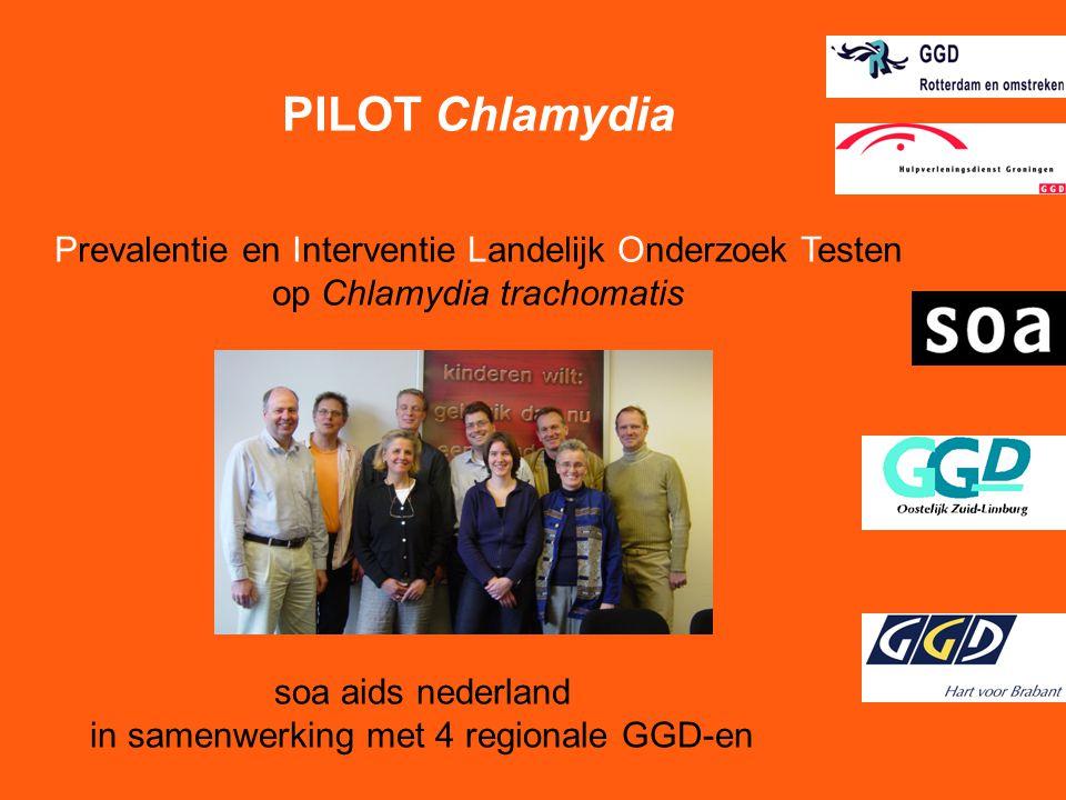 soa aids nederland in samenwerking met 4 regionale GGD-en