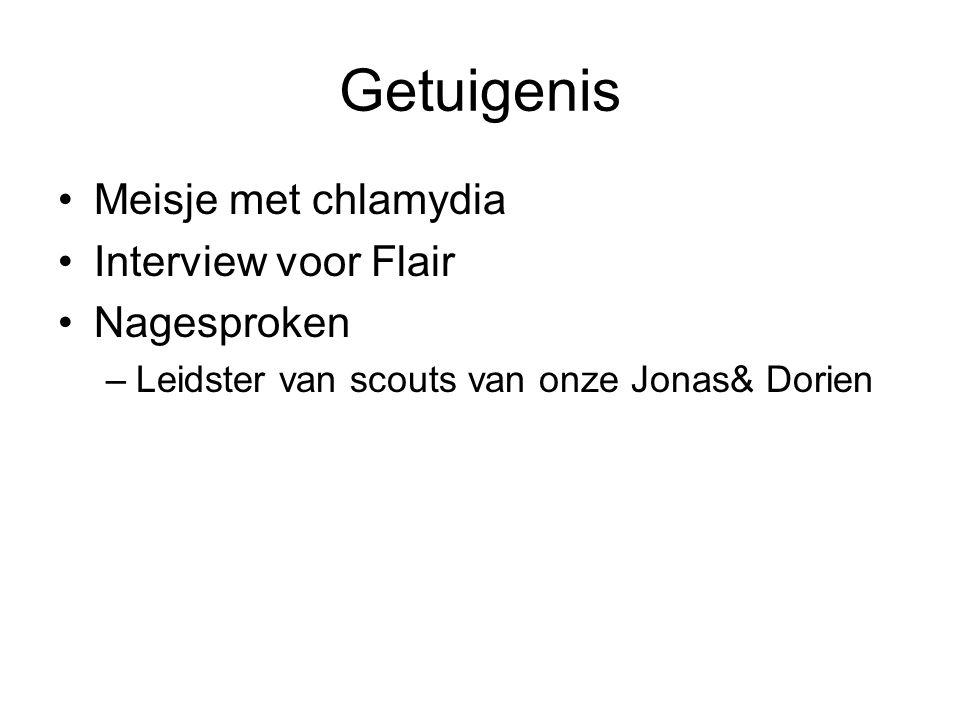 Getuigenis Meisje met chlamydia Interview voor Flair Nagesproken