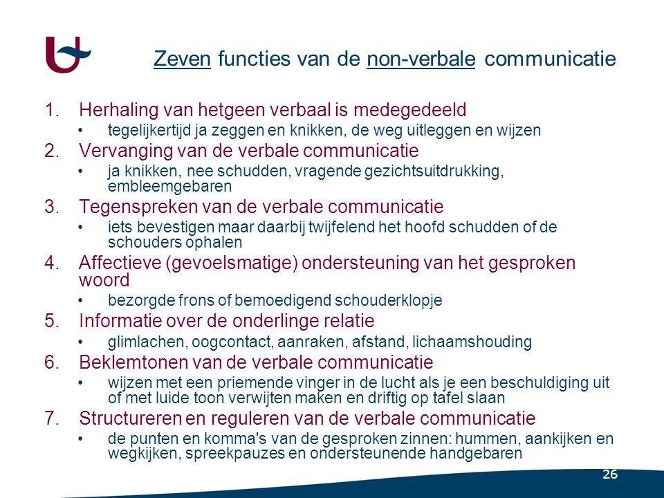http://www.lichaamstaal.nl/ 55% van de communicatie bestaat uit lichaamstaal, 38% wordt geuit door de stemklank en slechts.
