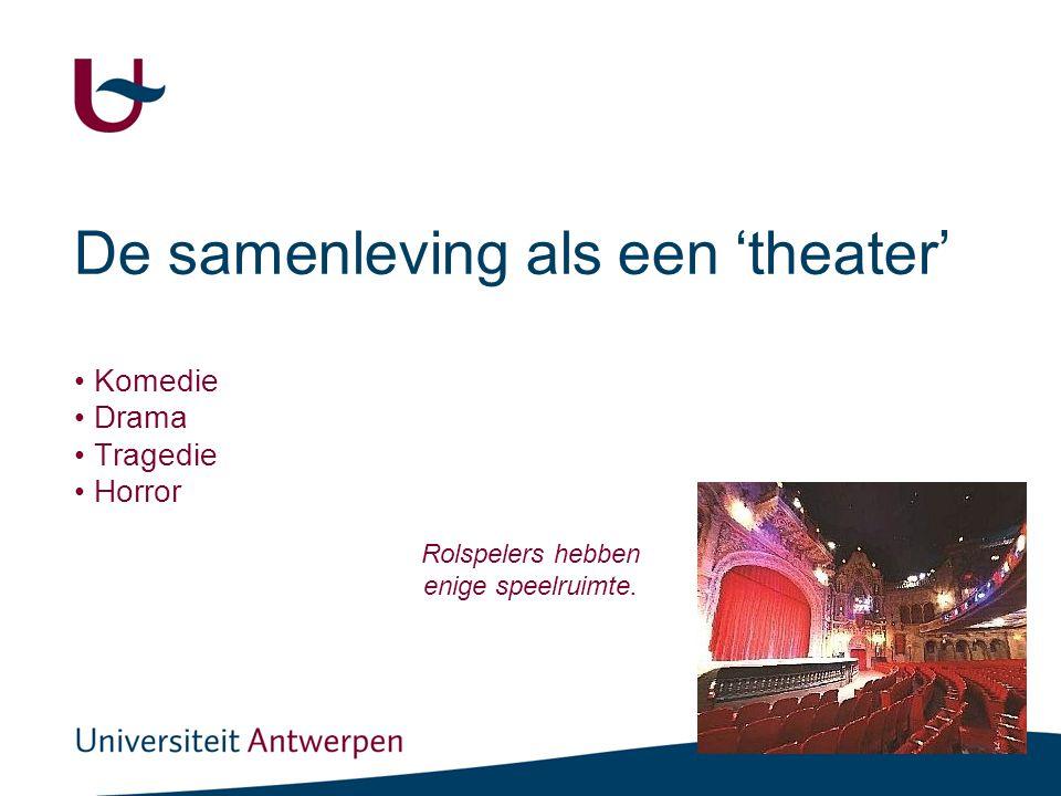 De sociale rol (theater)