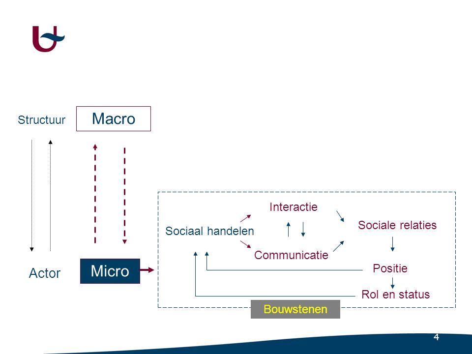 Een conceptueel sociologisch kader