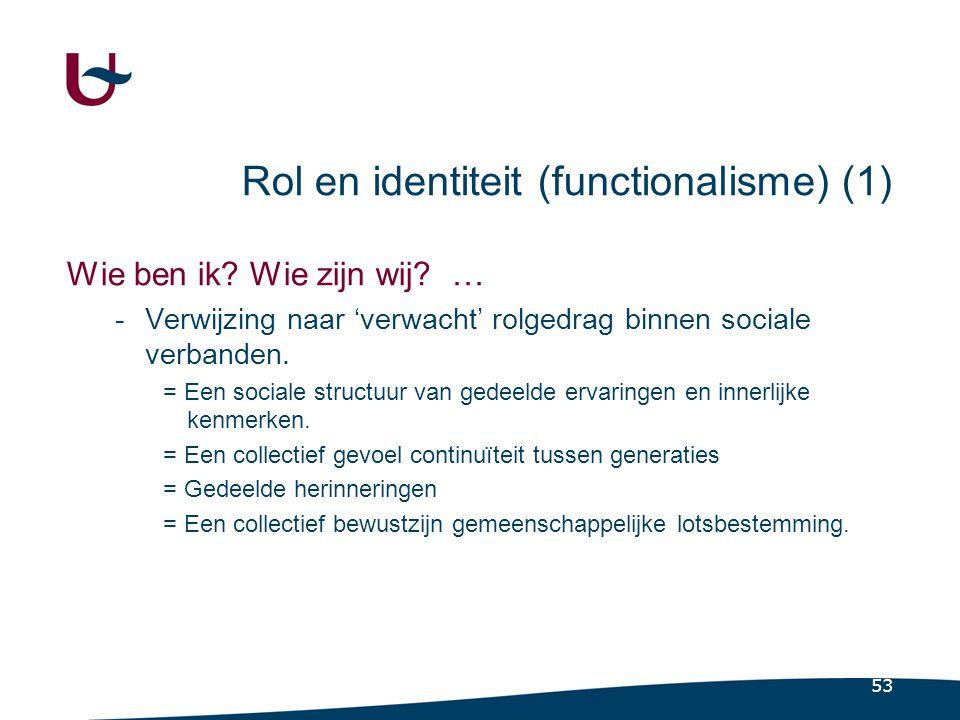 Rol en identiteit (functionalisme) (2)