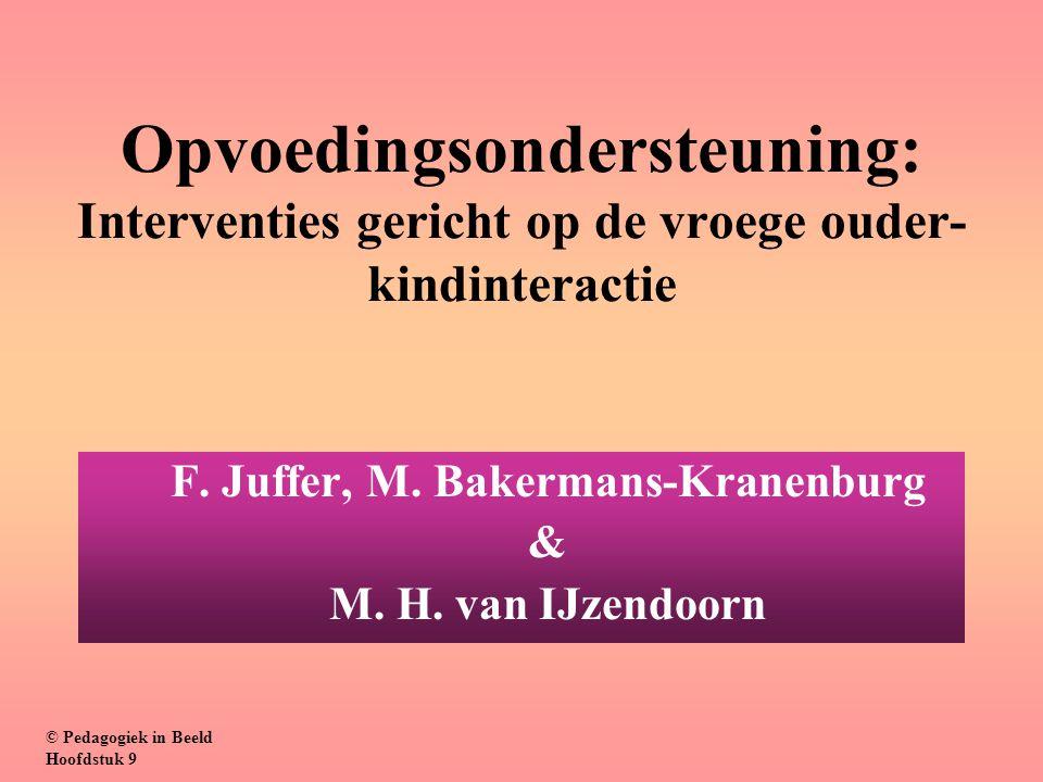 F. Juffer, M. Bakermans-Kranenburg