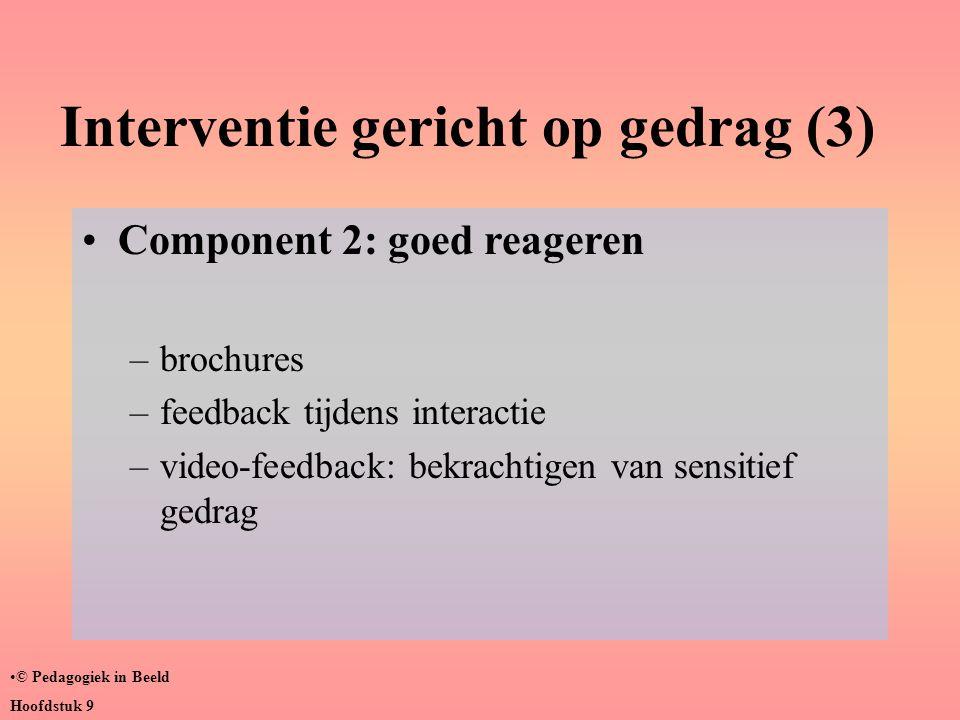 Interventie gericht op gedrag (3)