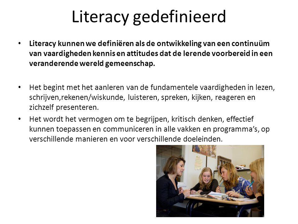 Literacy gedefinieerd