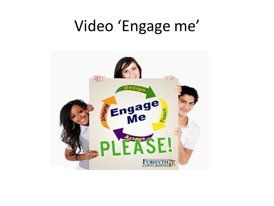 Video 'Engage me'