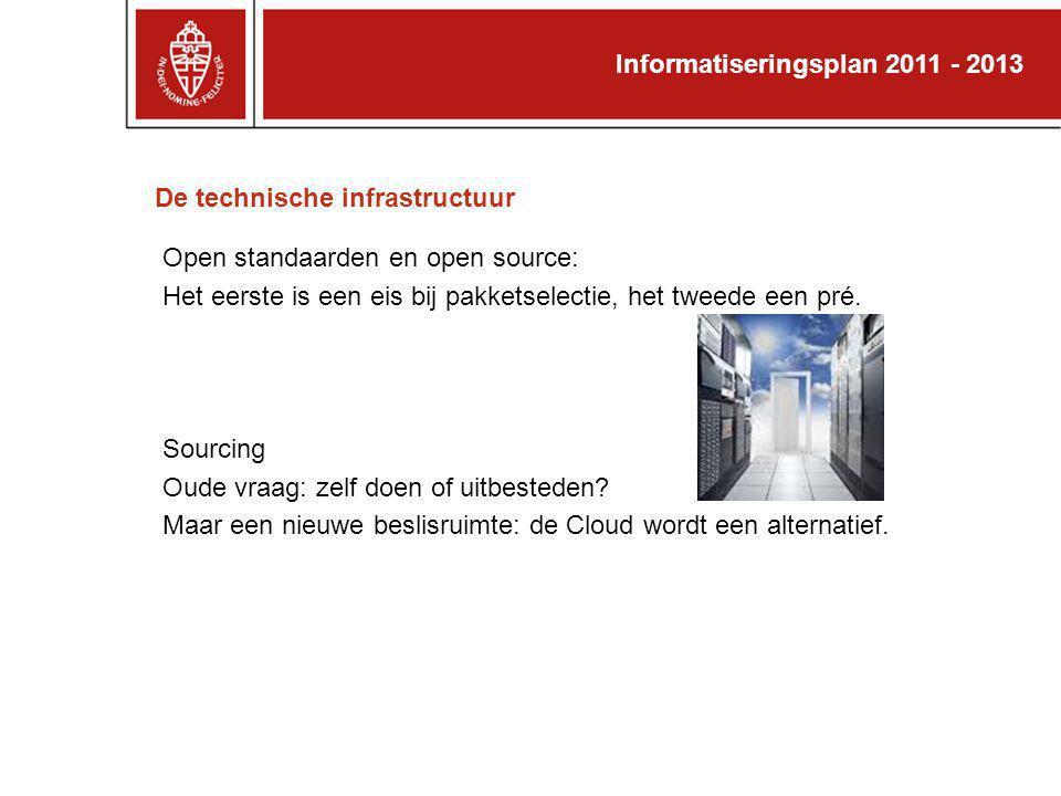 De technische infrastructuur