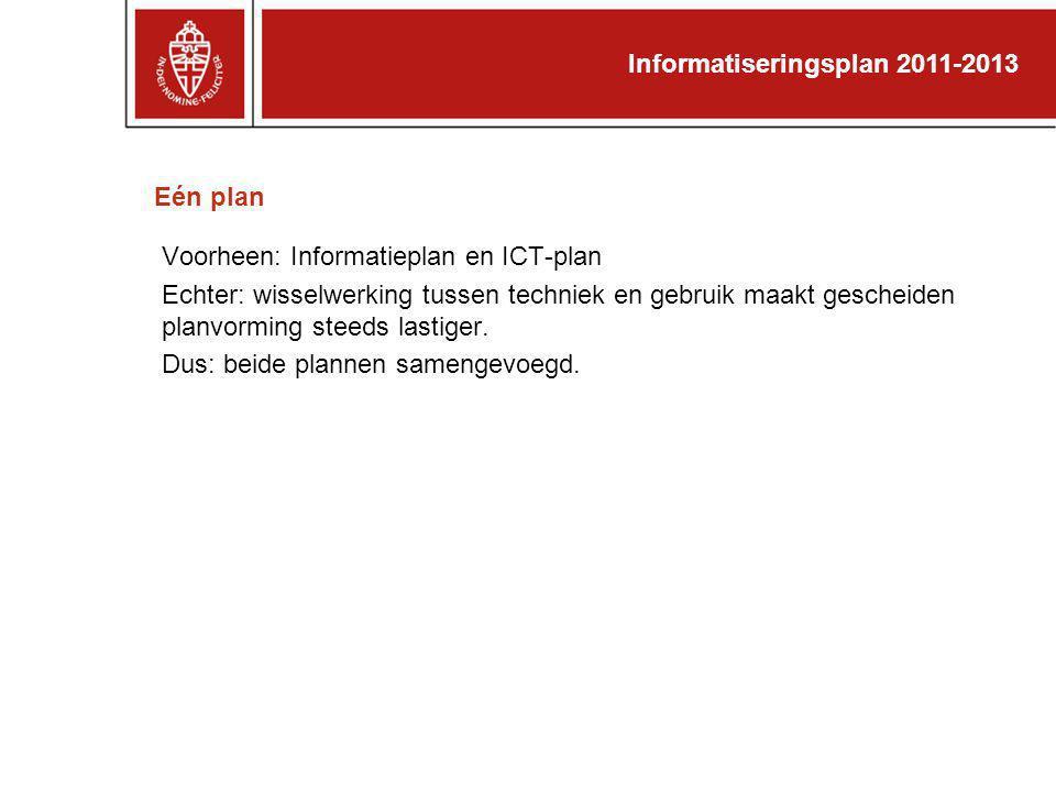 Informatiseringsplan 2011-2013