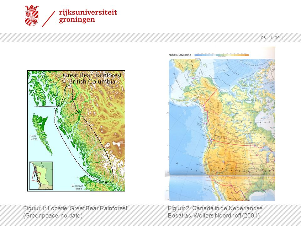 Figuur 1: Locatie 'Great Bear Rainforest' (Greenpeace, no date)