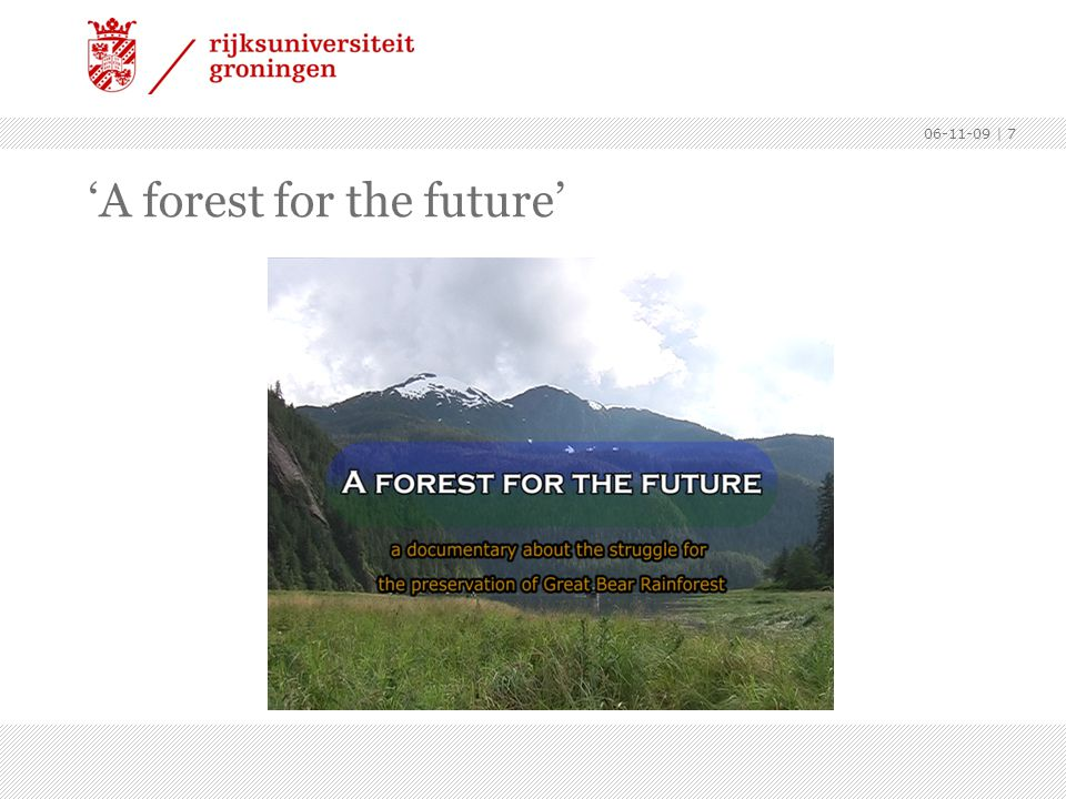'A forest for the future'