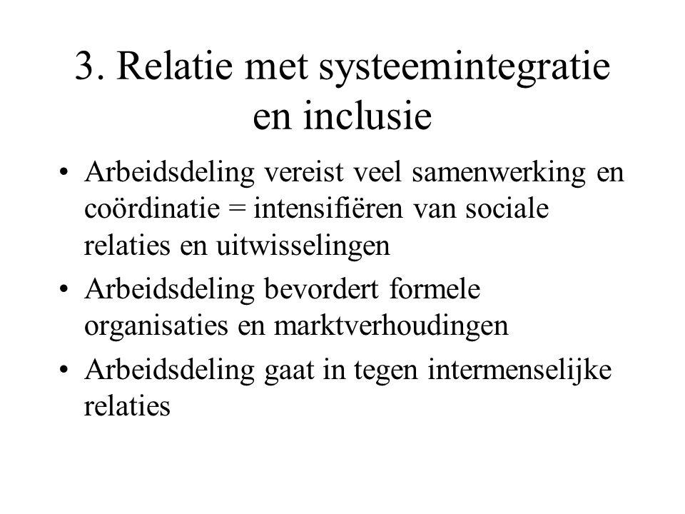 3. Relatie met systeemintegratie en inclusie