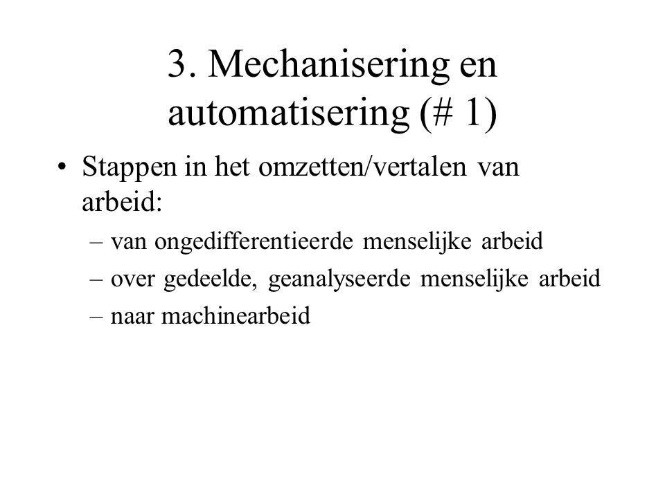 3. Mechanisering en automatisering (# 1)