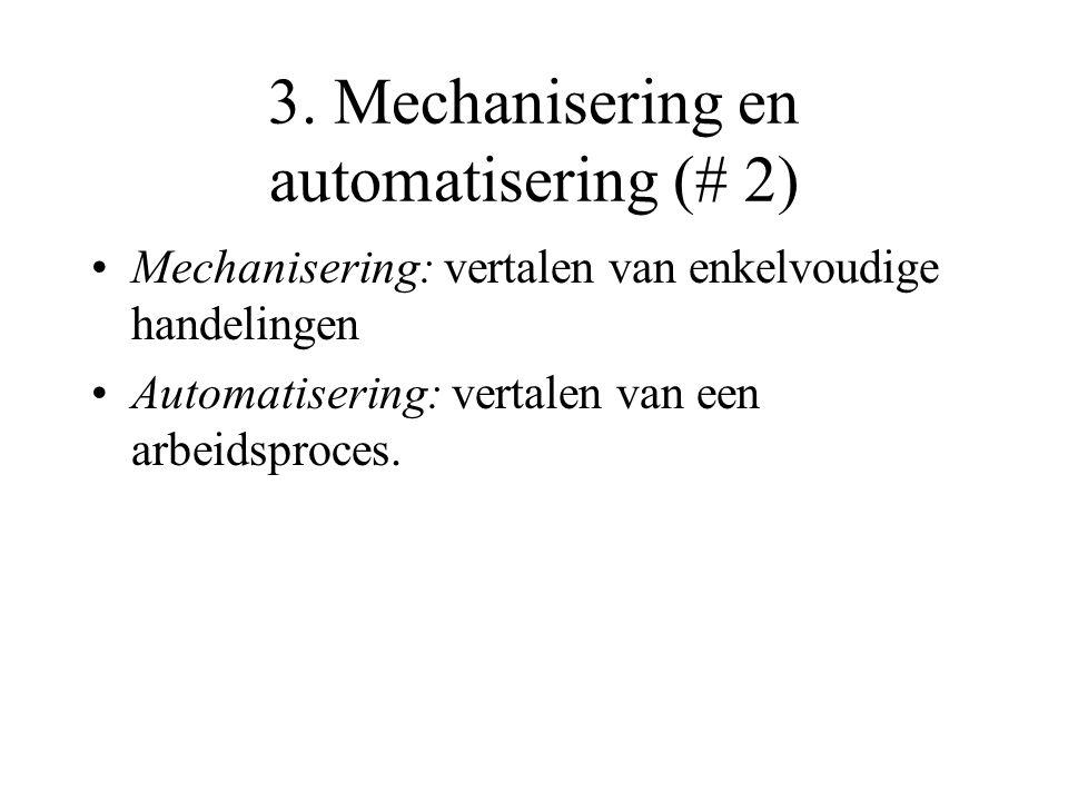 3. Mechanisering en automatisering (# 2)