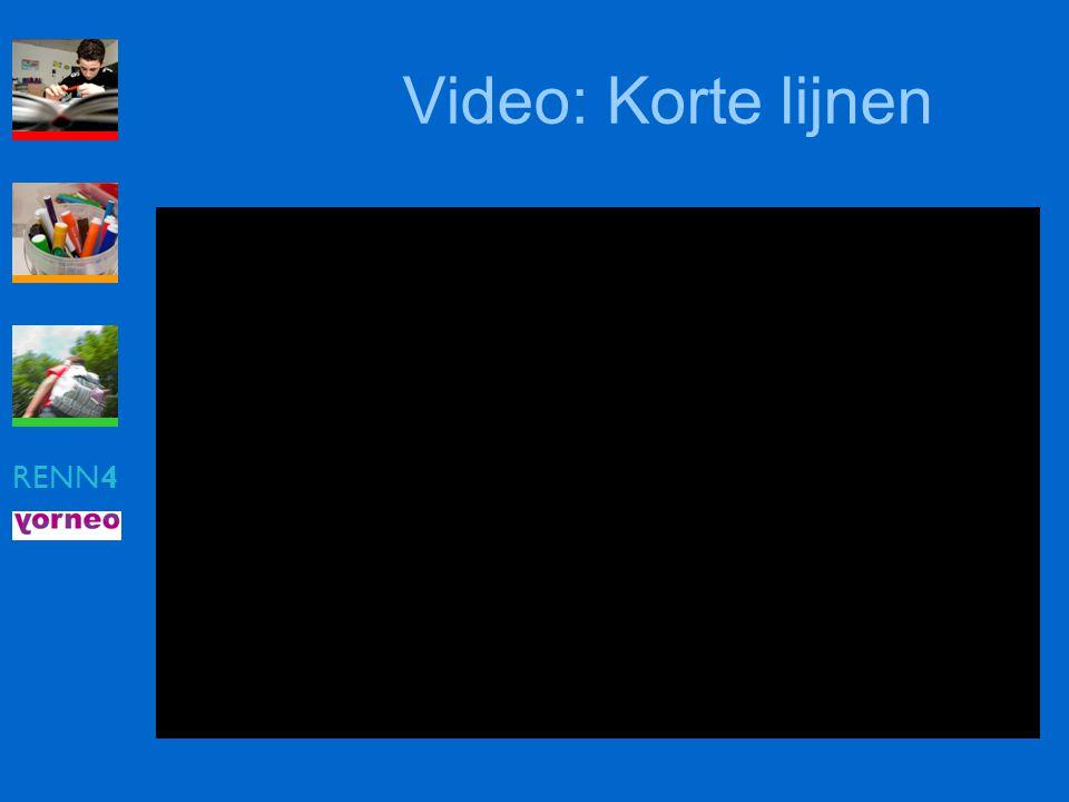 Video: Korte lijnen RENN4