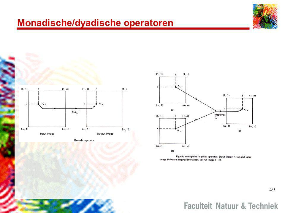 Monadische/dyadische operatoren