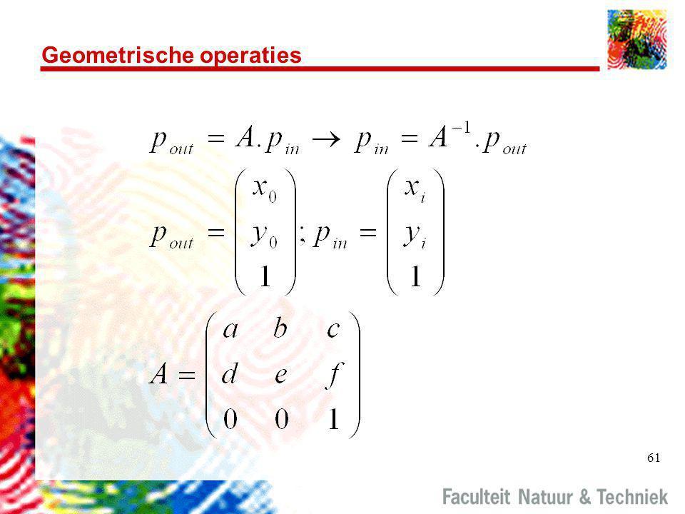 Geometrische operaties