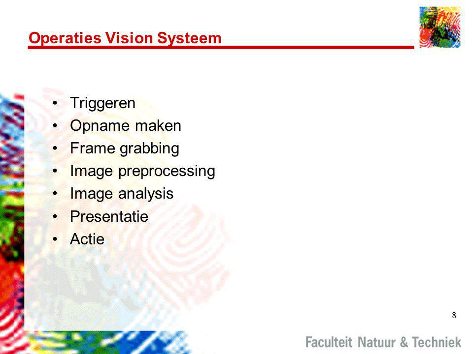Operaties Vision Systeem