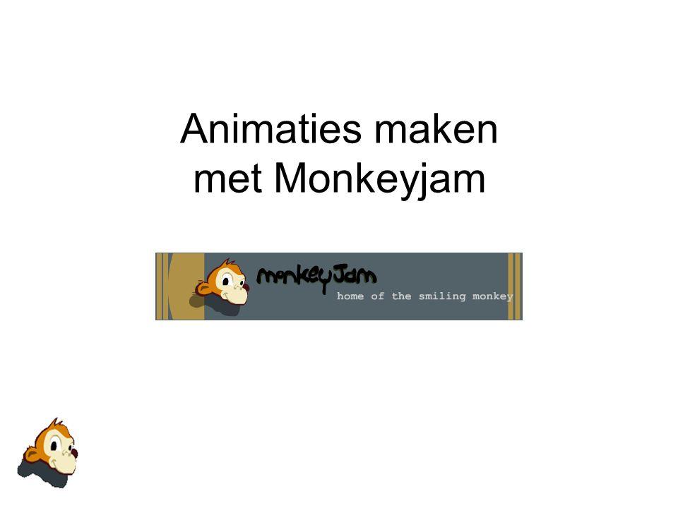 Animaties maken met Monkeyjam