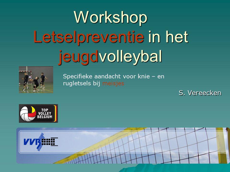 Workshop Letselpreventie in het jeugdvolleybal