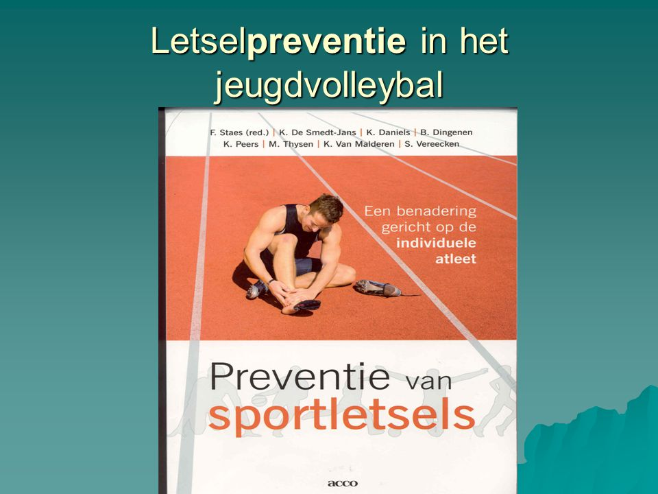 Letselpreventie in het jeugdvolleybal