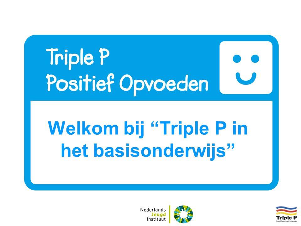 Welkom bij Triple P in het basisonderwijs