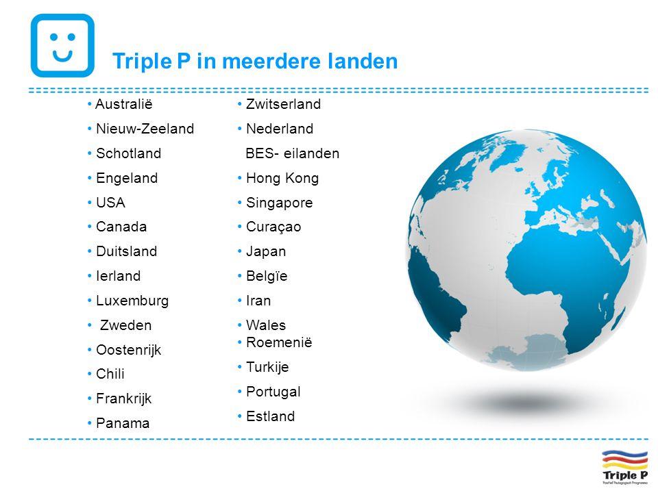 Triple P in meerdere landen