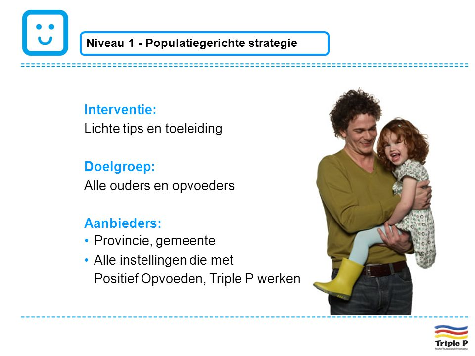 Lichte tips en toeleiding Doelgroep: Alle ouders en opvoeders
