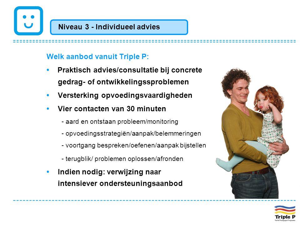 Niveau 3 - Individueel advies