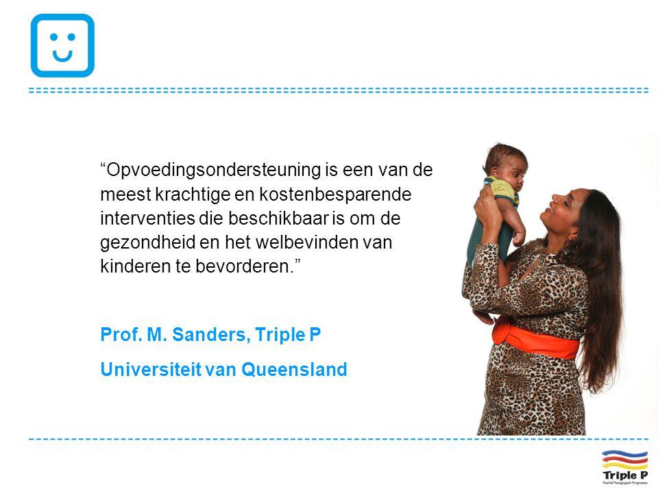 Opvoedingsondersteuning is een van de meest krachtige en kostenbesparende interventies die beschikbaar is om de gezondheid en het welbevinden van kinderen te bevorderen.