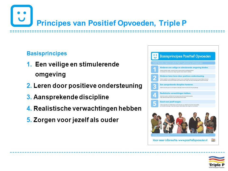 Principes van Positief Opvoeden, Triple P