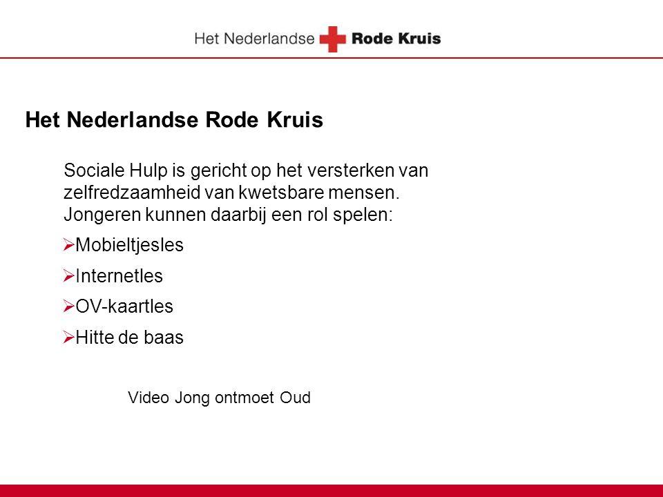 Het Nederlandse Rode Kruis