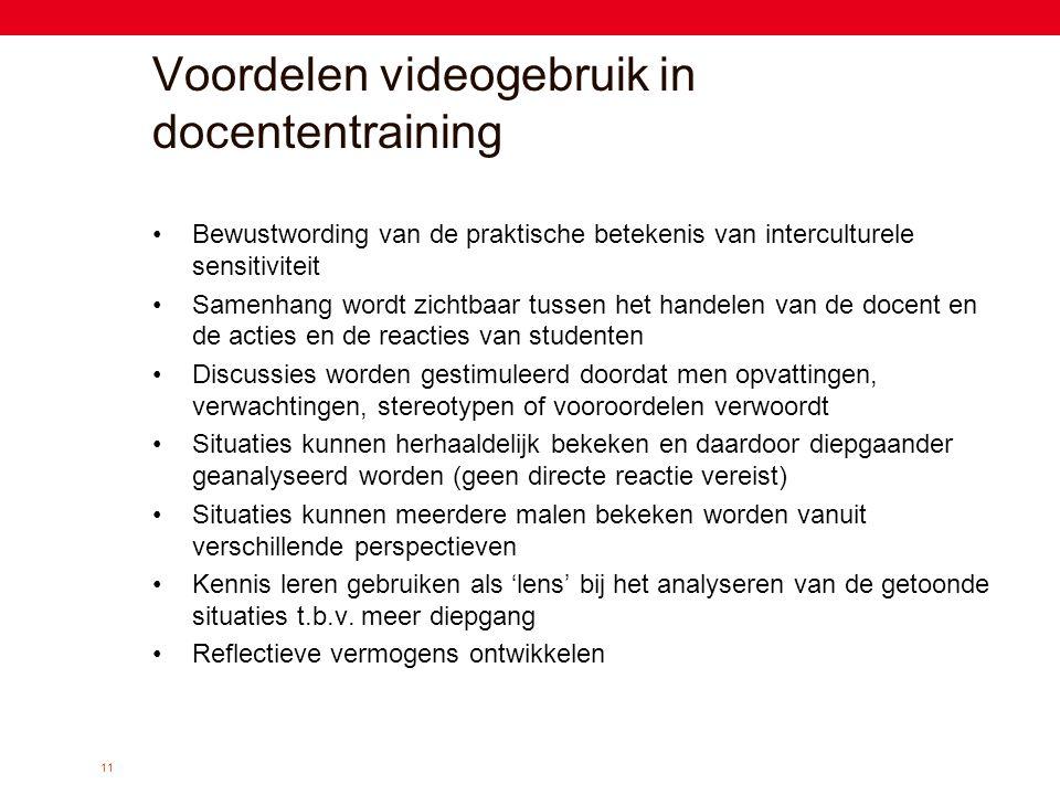 Voordelen videogebruik in docententraining